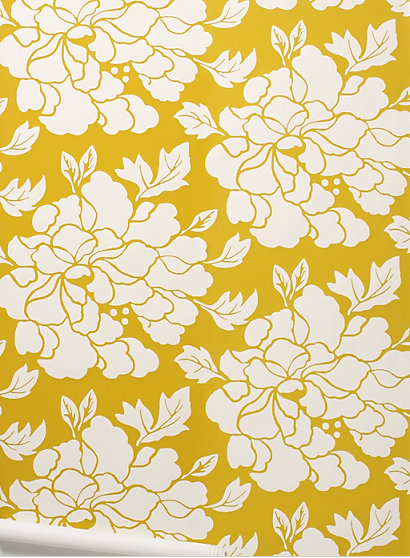 gallery for anthropologie poppies wallpaper