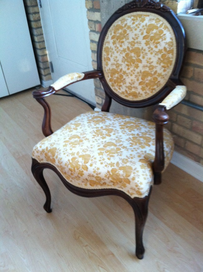 Reupholstering Antique Chair: Part 1 – There's No Place Like - How To Reupholster Antique Chair Antique Furniture