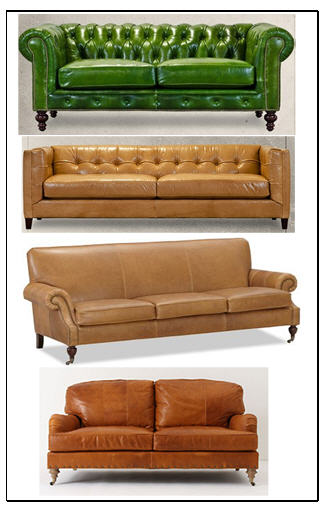 leather sofa roundup