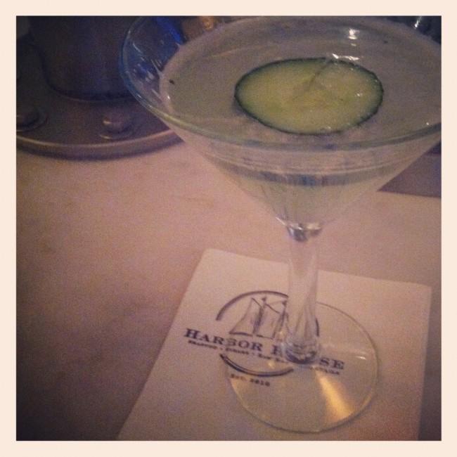 Harbor House Cucumber Martini