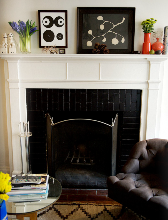 matchbook fireplace
