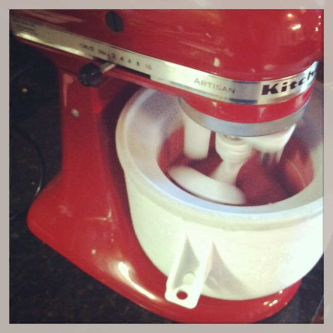 new ice cream maker