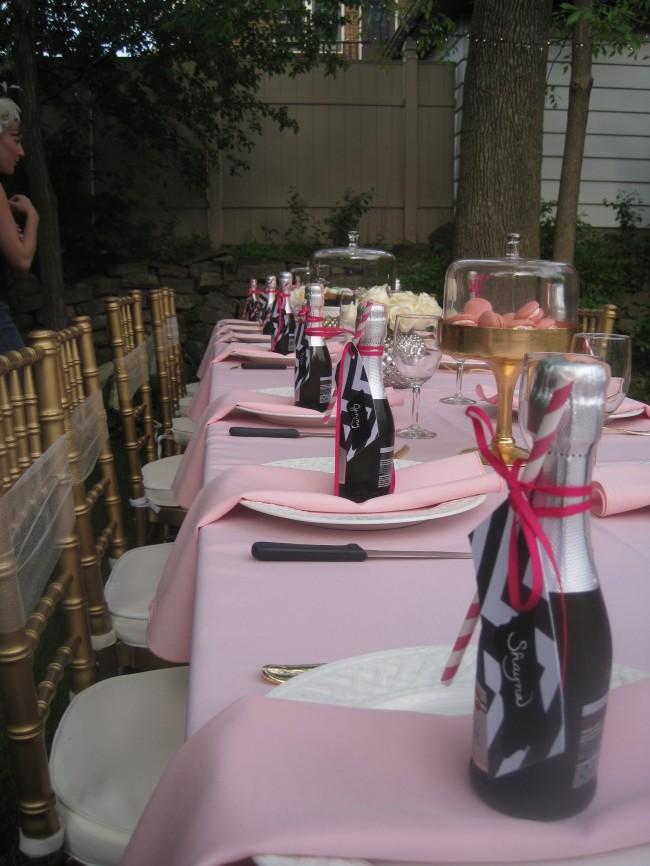 tables set!