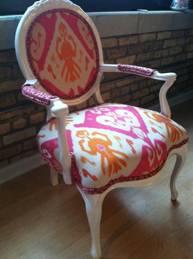 Final DIY Upholstery