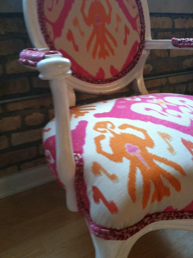 Final DIY Arm Chair - Upholstery