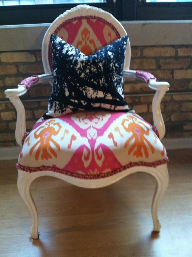 Final DIY Upholstery Arm Chair