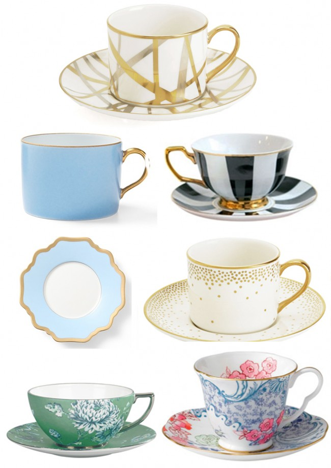 tea cup round up