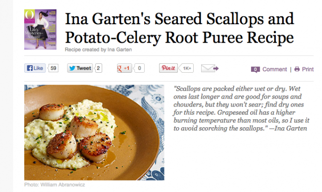 celery root puree