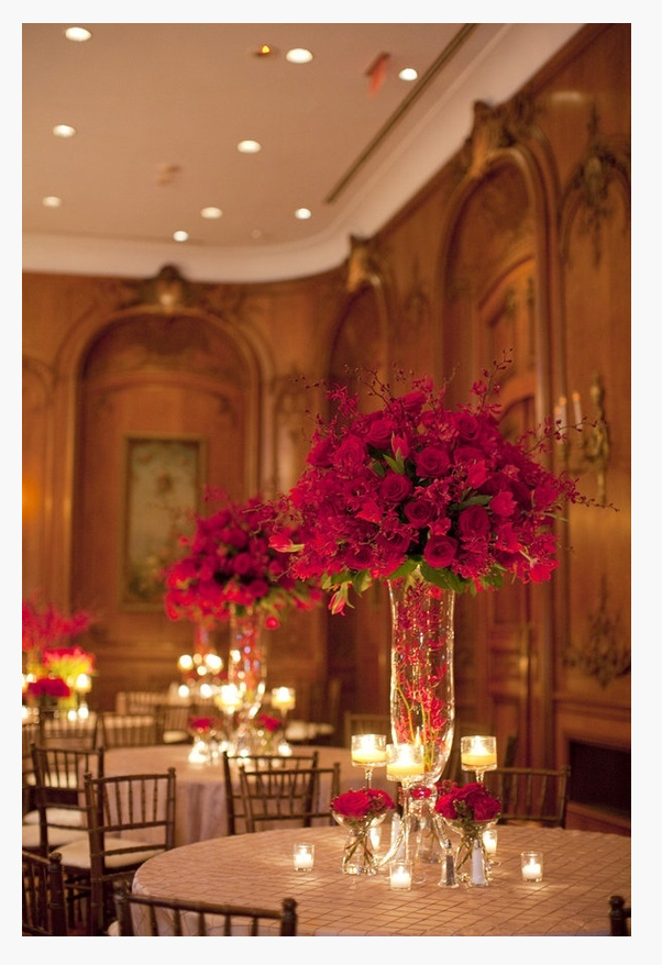 TNPLH: Tall Wedding Arrangments