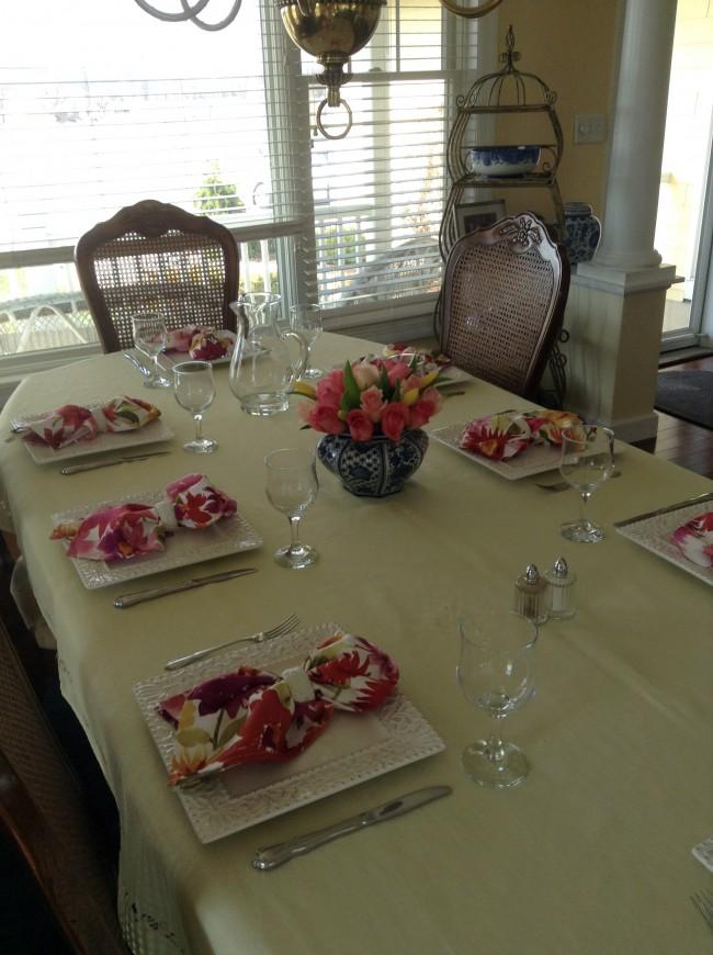 TNPLH: Giner Jars and Pink Roses