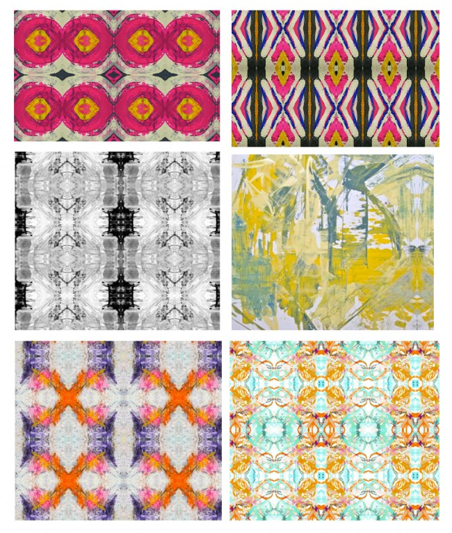 Lindsay Cowles Spoonflower Fabric