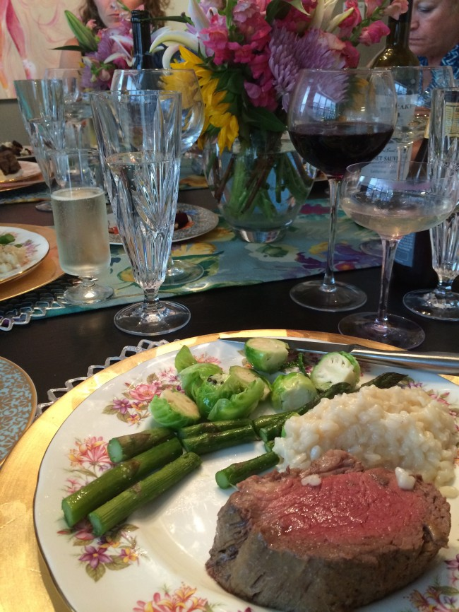TNPLH: Floral Dinner Party Entree
