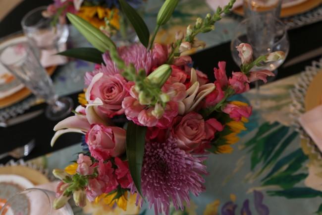 TNPLH: Floral Dinner Party Flowers