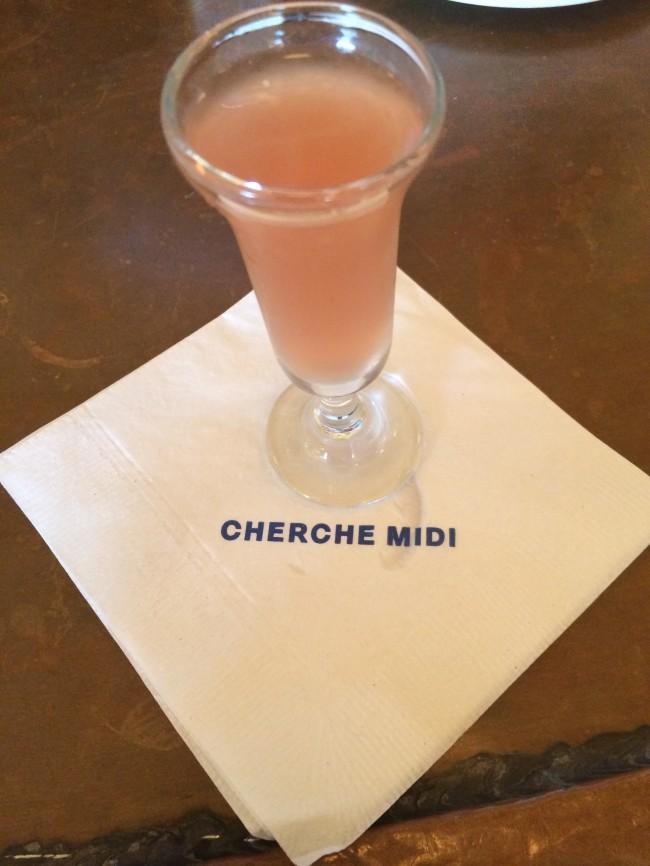 Cherche Midi NYC Drink