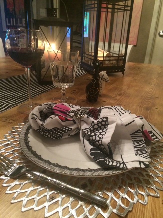 Date Night At Home Dinner Table