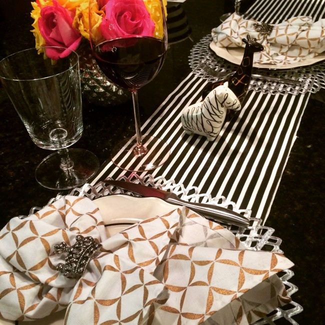 TNPLH: Date Night Tablescape