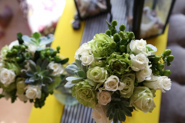 TNPLH: Green Wedding Flowers