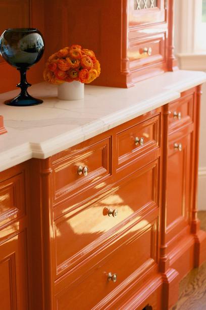orange cabinet inspiraiton