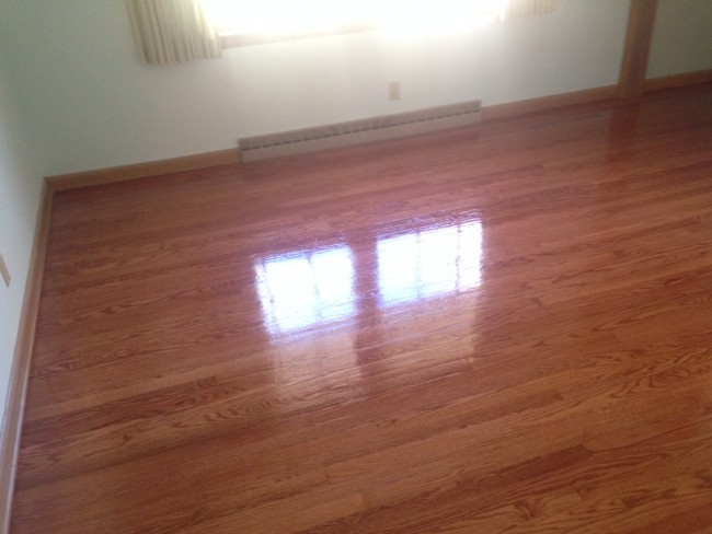 Hardwood Floors After