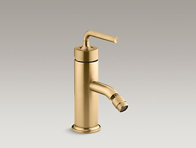 Kohler Purist Faucet in Brushed Gold