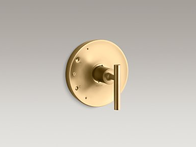 Kohler Purist Lever Handle Brushed Gold