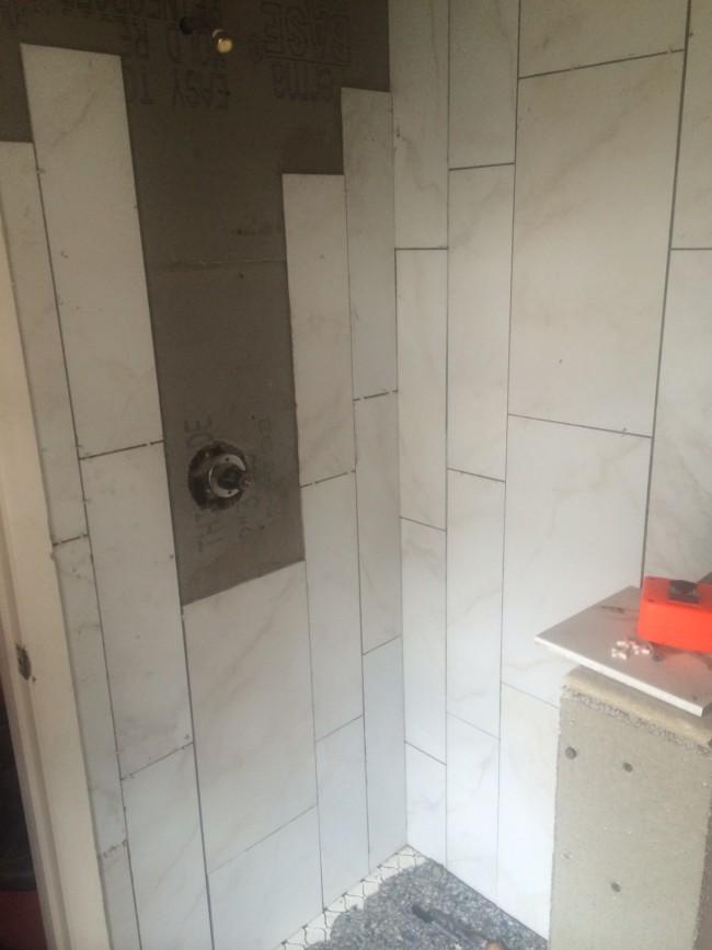 Bathroom Remodel Progress 5.7 - 2