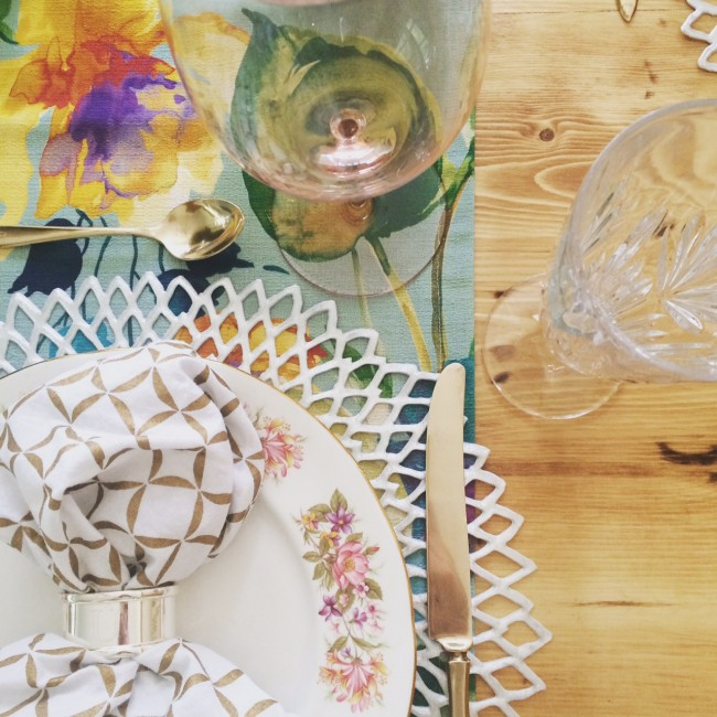 TNPLH Mothers Day 2015 Table