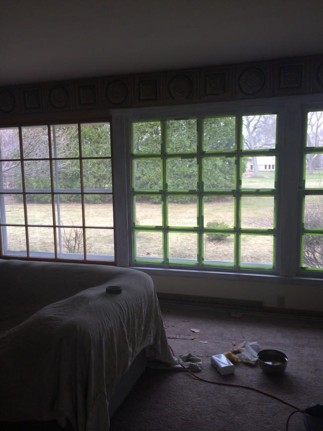 TNPLH: Living Room Window Painting 2