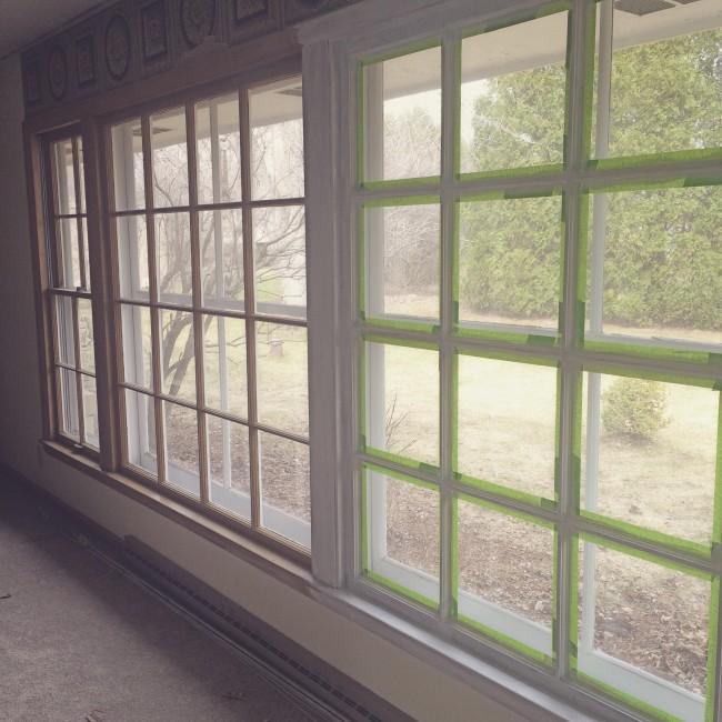 TNPLH: Living Room Window Painting