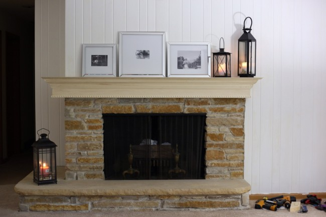 TNPLH: DIY Mantel 9
