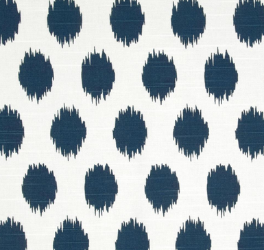 ikat dot fabric