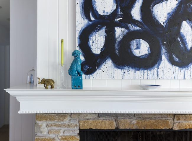 TNPLH: DIY Mantel Art 4