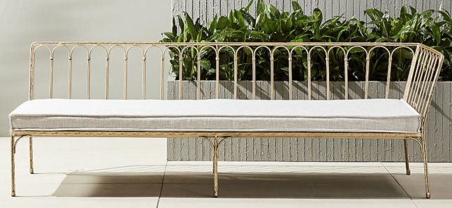 loving: CB2 Outdoor Daybed