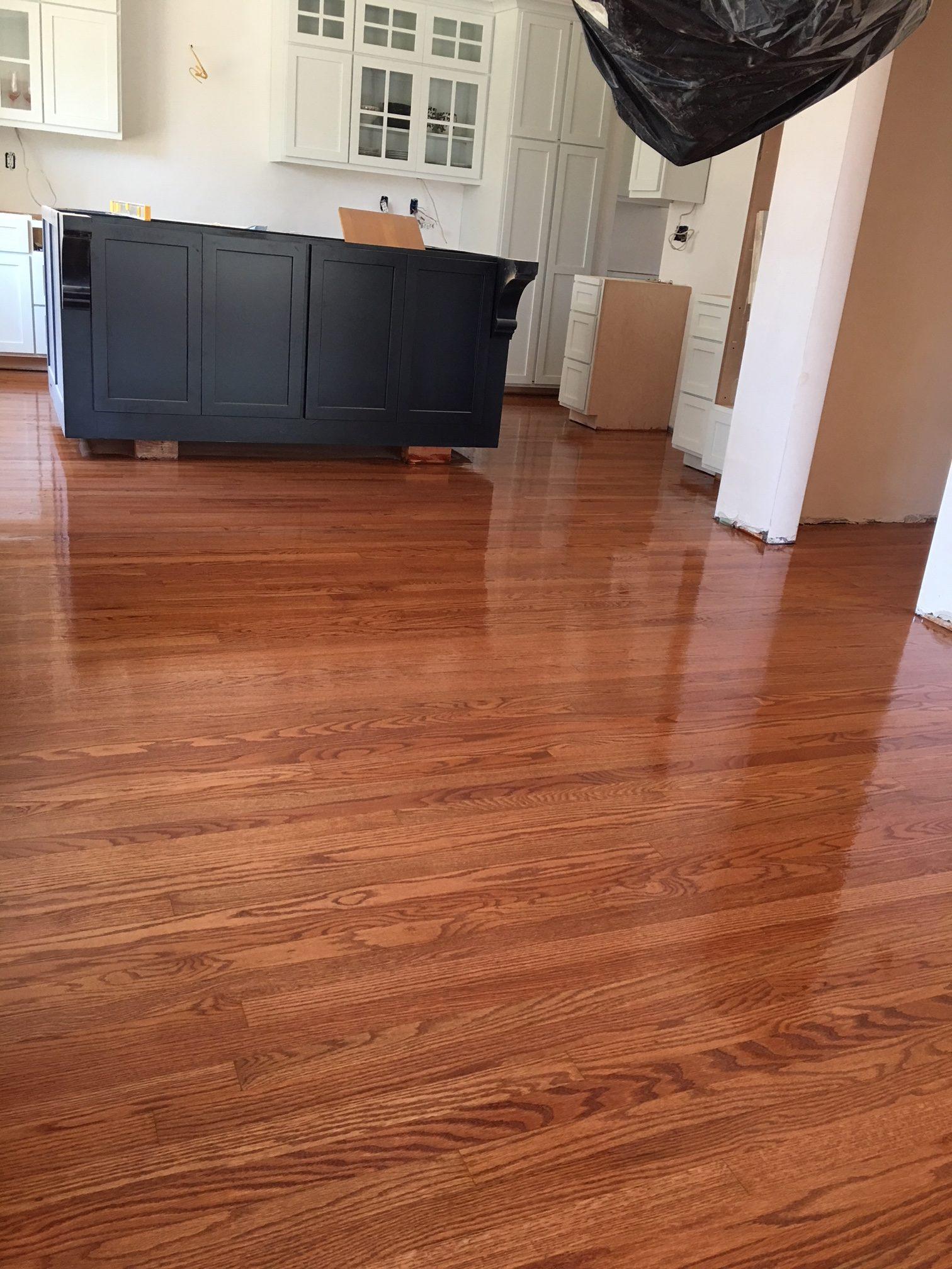 Little Yellow House Kitchen: Floor Progress – There